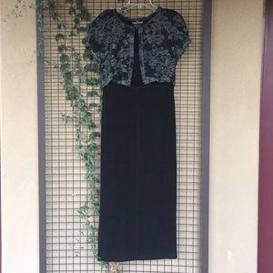 {Carol Little} Size 8 Vintage Maxi Dress
